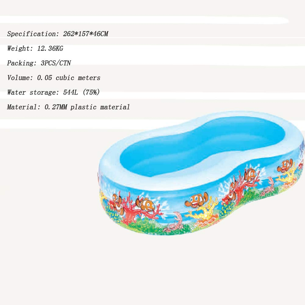 FLY FLAP Piscina Hinchable,Piscinas Hinchables Familiar ...