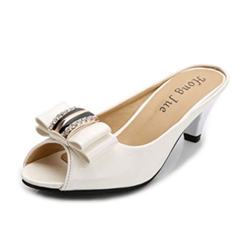 8a694f2e671 Penin Ladies Wedges Shoes for Women 2018 Summer Beach Patent Leather ...