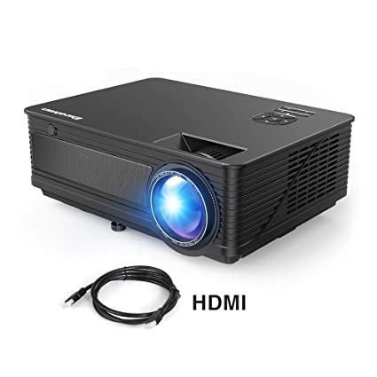 "Proyector LED 1080P Full HD Excelvan M5 2018 Actualizado 3500 Lumenes 200"" Mini Proyector con HDMI para iPhone / Android / PS / PC / TV Box Mini ..."