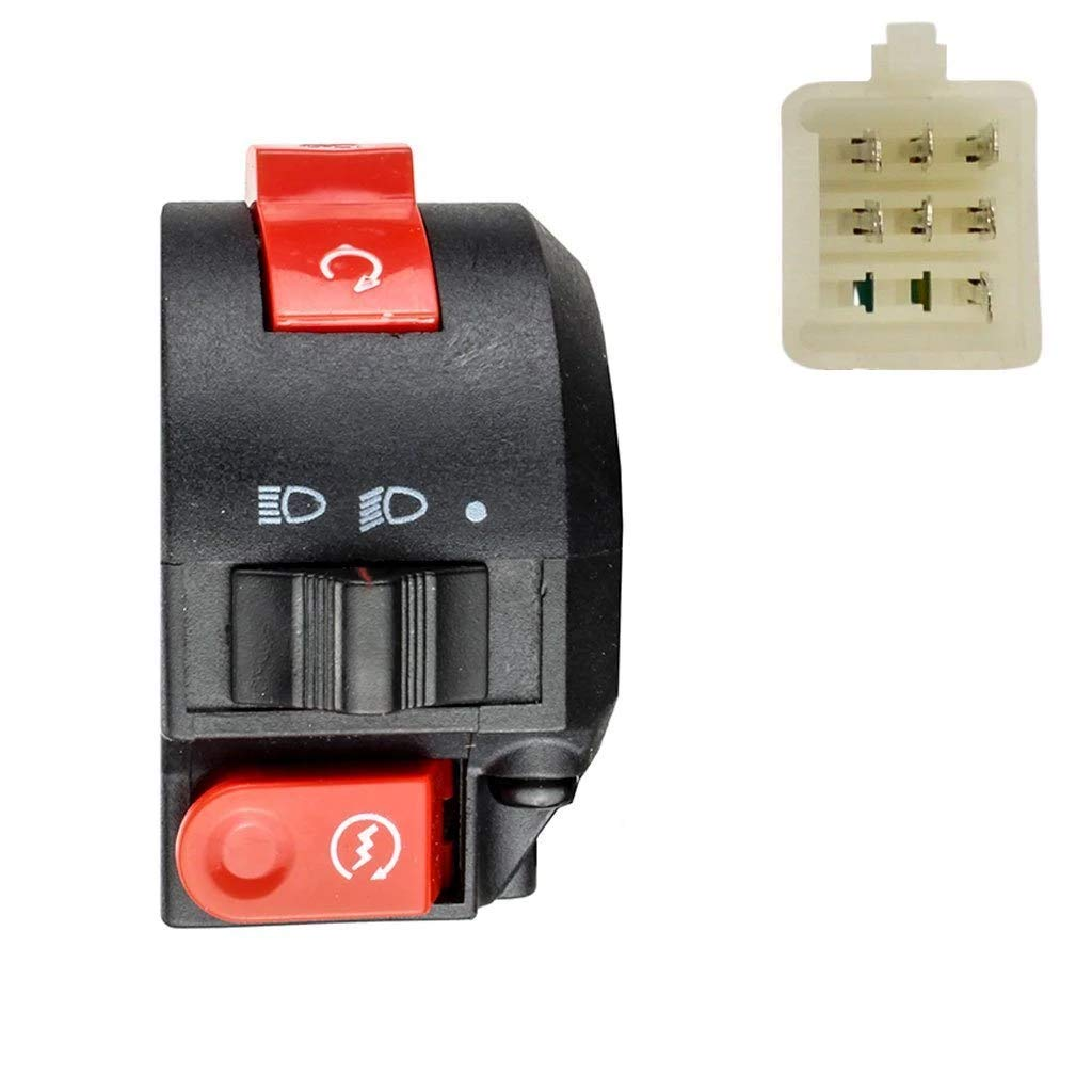 Left 7 Wire Coolster ATV Quad 3050A 3125B 3125R by VMC CHINESE PARTS Handlebar Switch