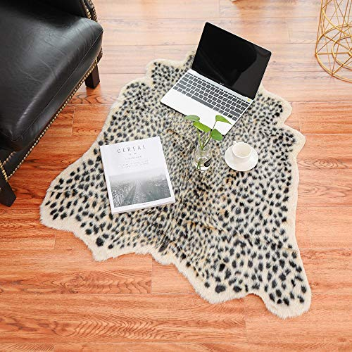 ZTY66✩ Artificial Carpet, Simulation Cowhide, Leopard,, used for sale  Delivered anywhere in USA
