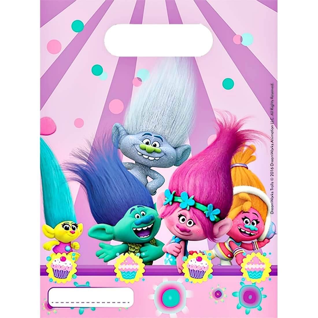 rainbowFUN.de Trolls - Kit de Fiesta, 64-Teilig: Amazon.es ...