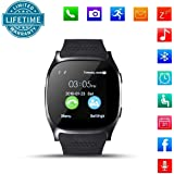 KeepGoo Orologio intelligente, 1.54 inch IPS Screen 6261D/260MHz, 0.3MP Camera, Support GSM & Dial & Pedometer & Anti-lost & Sleep Monitor & Remote Camera & LBS Positioning