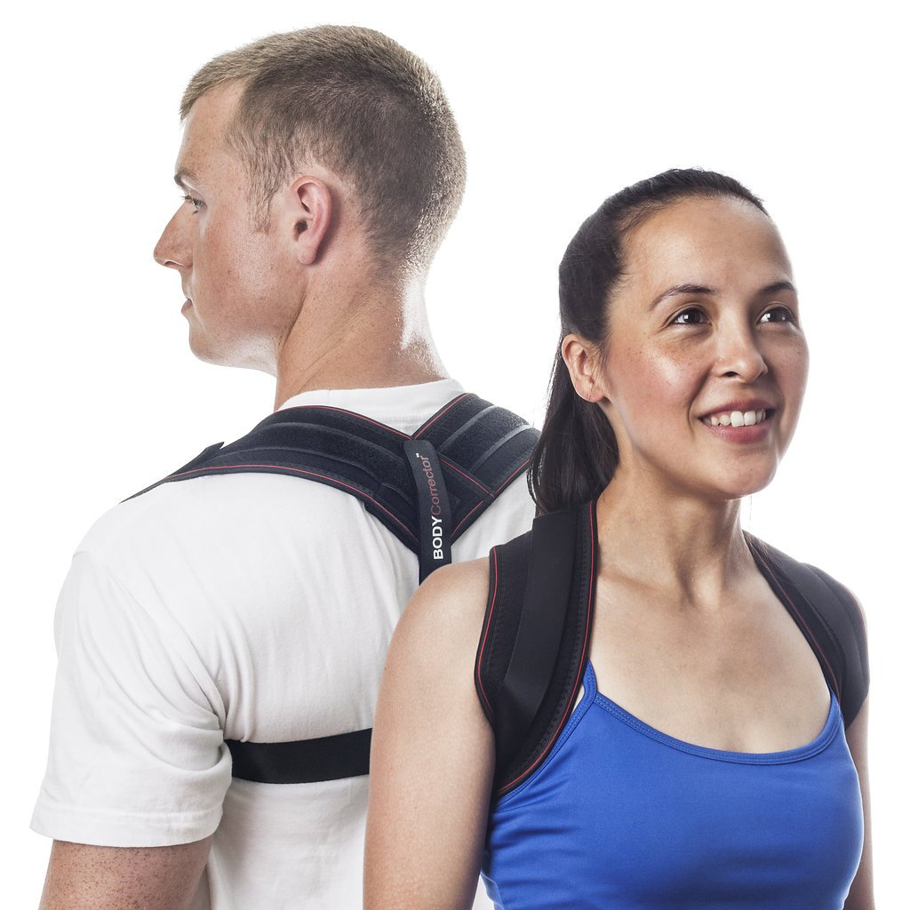 Posture Brace Back Posture Corrector - Upright Trainer for Women and Men for Perfect Spine Alignment and Relief of Kyphosis by Body Corrector