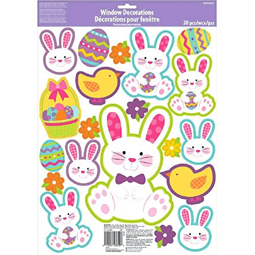 Assorted Easter Window Clings | Party Decoration