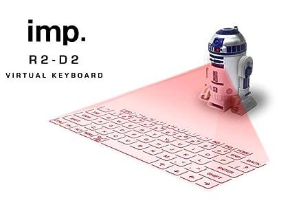 Amazoncom R2d2 Virtual Keyboard Starwars Computers Accessories