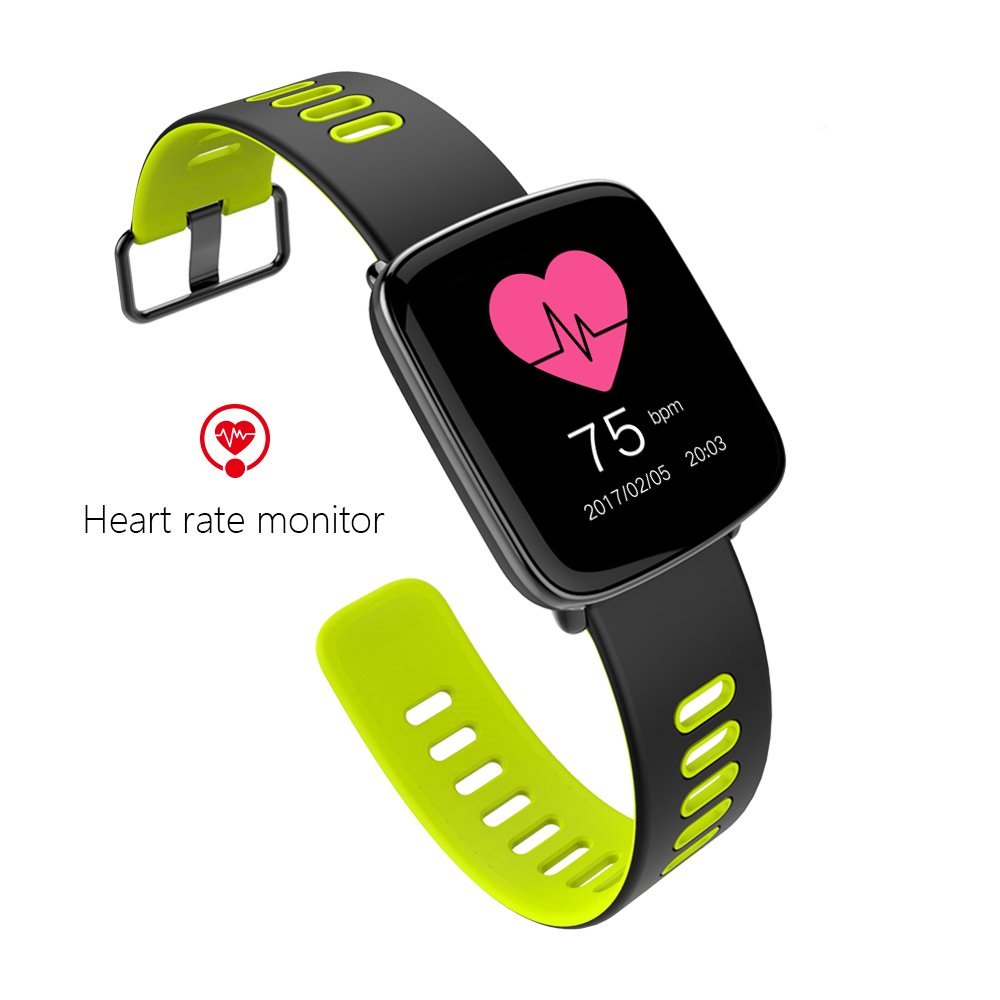 Bluetooth Smart Watch,Mbuynow GV68 Impermeable IP68 Sport Fitness Tracker Reloj con Heart Rate Monitor Pedometer Sleep Monitor