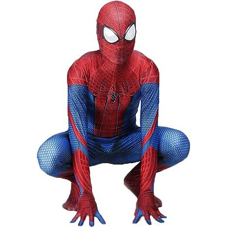 QWEASZER Clásico Increíble Traje de Spider-Man Traje de ...