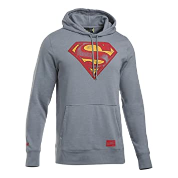 Under Armour Retro Superman TRIBL Hoody Sudadera, Hombre, Gris (Steel), 3XL: Amazon.es: Deportes y aire libre