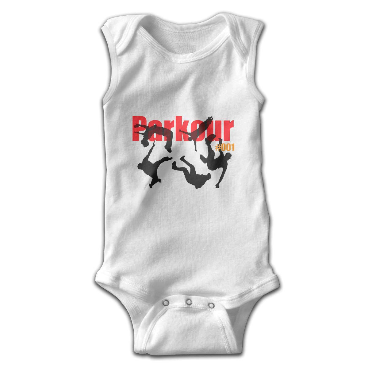 Efbj Toddler Baby Boys Rompers Sleeveless Cotton Jumpsuit,Parkour Outfit Spring Pajamas