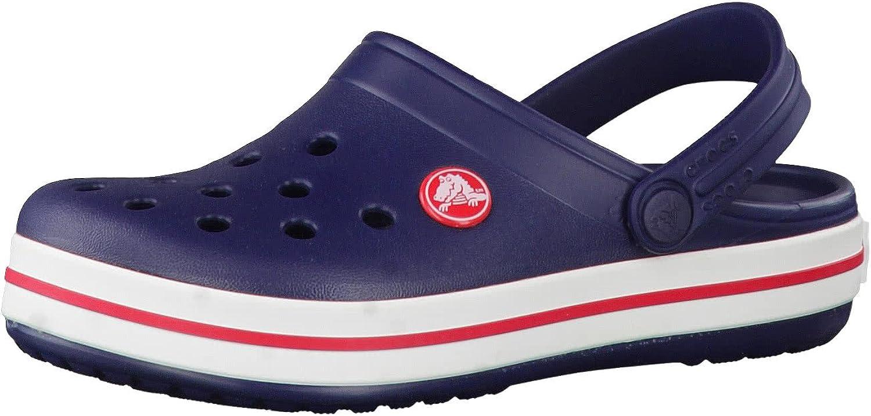 Crocs Crocband Clog K, Zuecos con Correa para Niñas