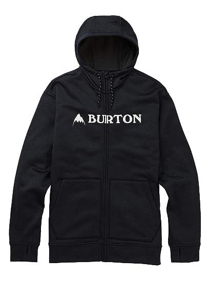 Burton Oak Sudaderas, Hombre, True Black Heather, XXL