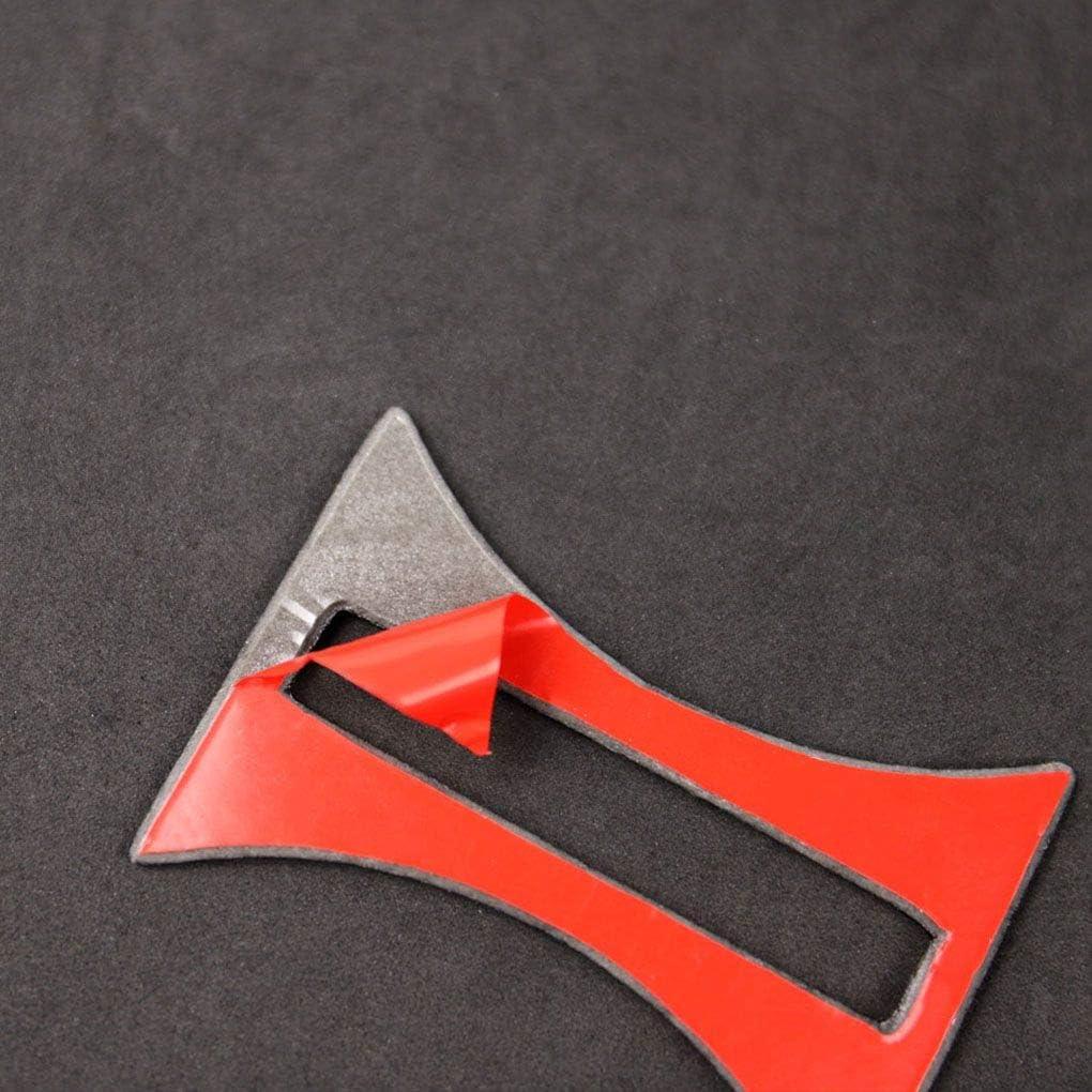 Rekkle Fibra di Carbonio Foderato Cup Holder Sostituzione del Pannello Lunetta per Disposizione della Copertura della Mercedes GLA//CLA//A Classe