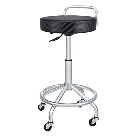Seville Classics UltraHD Cushioned Pneumatic Work Stool