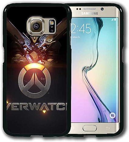 Overwatch Coque Samsung Galaxy S6 Edge (pour S6 EDGE) Coque Housse ...