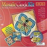 Aquastone Group Mosaic Clock Kit, 8-Inch-by-8-Inch