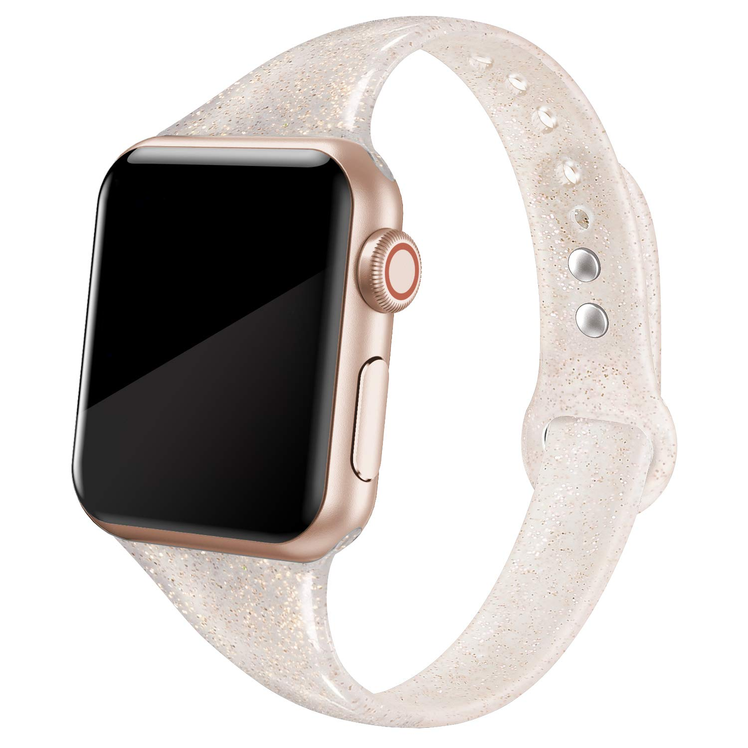 Malla Silicona para Apple Watch (38/40mm) SWEES [7SDQ6ZQN]