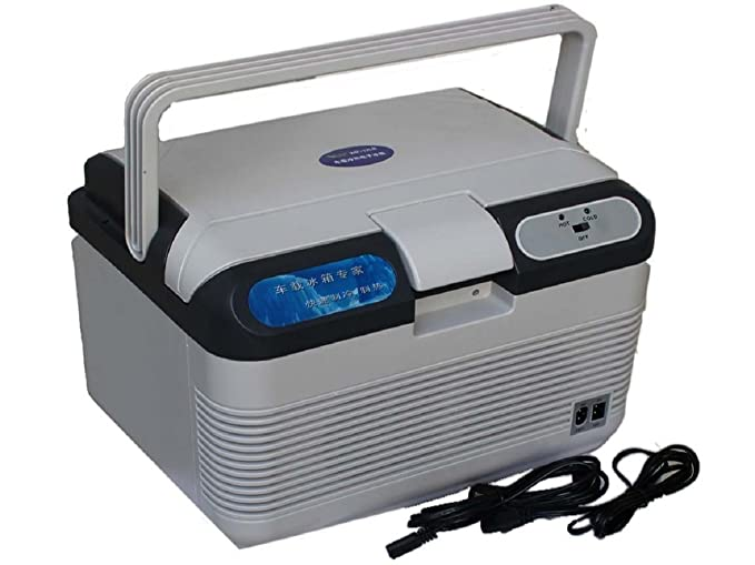 Krevia Orine Travel Cooling and Warming Refrigerator Interior Accessories at amazon