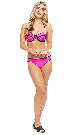 Neon Bikini Top