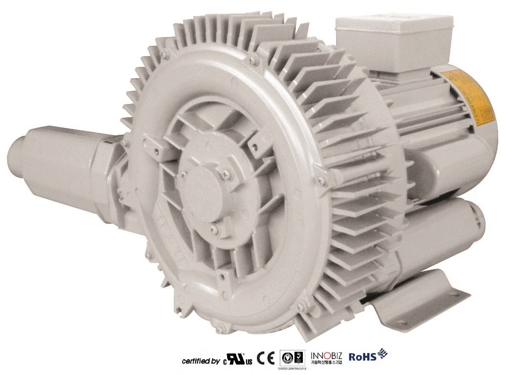 Pacific Regenerative Blower PB-202/1 (HRB-202/1), Ring, Side channel, Vacuum Pressure Blowers