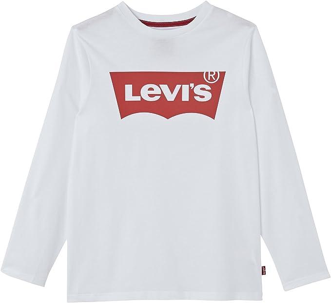 Levis N91005H, Camiseta para Niños, Blanco (White), 2 Año: Amazon ...