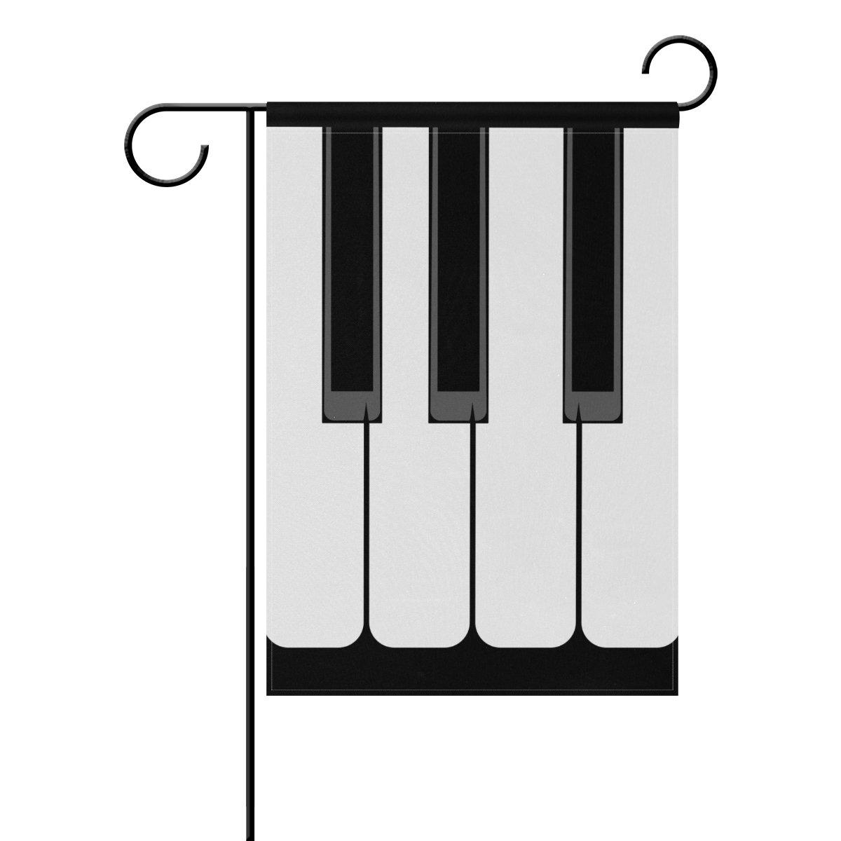 ALAZA Llavero de piano para decoración de jardín (poliéster ...
