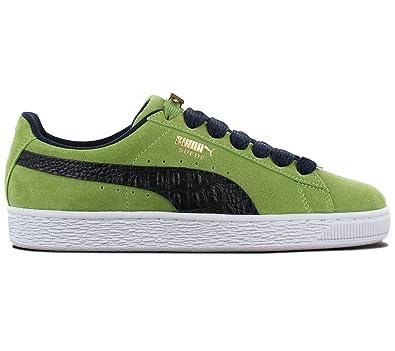 4e28d0ed3d Puma Suede Classic BBOY Fabulous 203 Unisex Sneakers (36, Forest  Green/Peacoat)