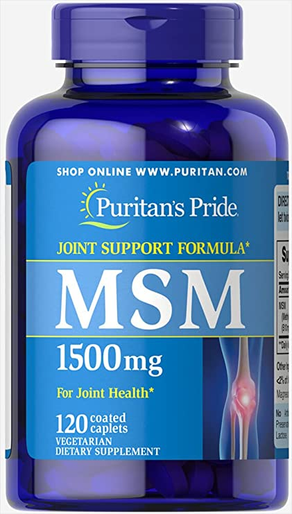 MSM 1500 mg 120 cps