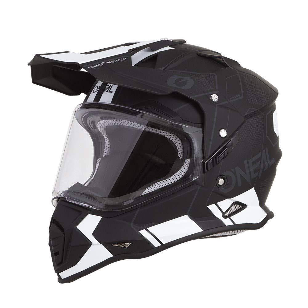O'Neal Unisex-Adult Off Road SIERRA II Helmet (COMB) Black/White Small