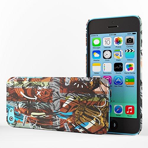 Koveru Back Cover Case for Apple iPhone 5C - Captain America