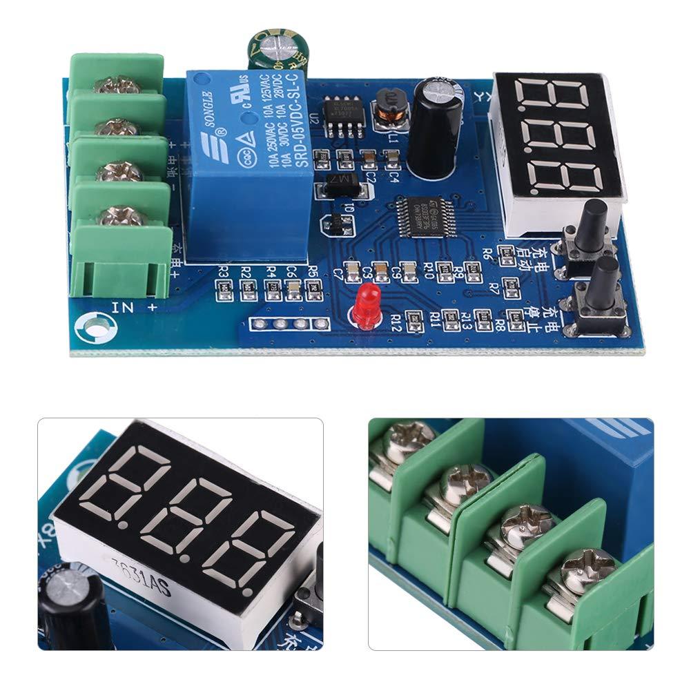 60/V 10/A chargement de la batterie automatiquement Control Board chargeur alimentation protection Switch Module de relais de d/étection de tension DC 6