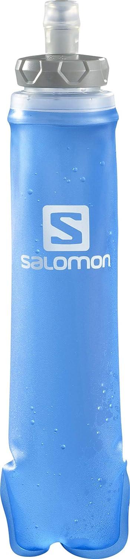 Salomon Botella de agua flexible, Unisex, SOFT FLASK 500ml/17oz STD 42, Azul, 500 ml, LC1312200