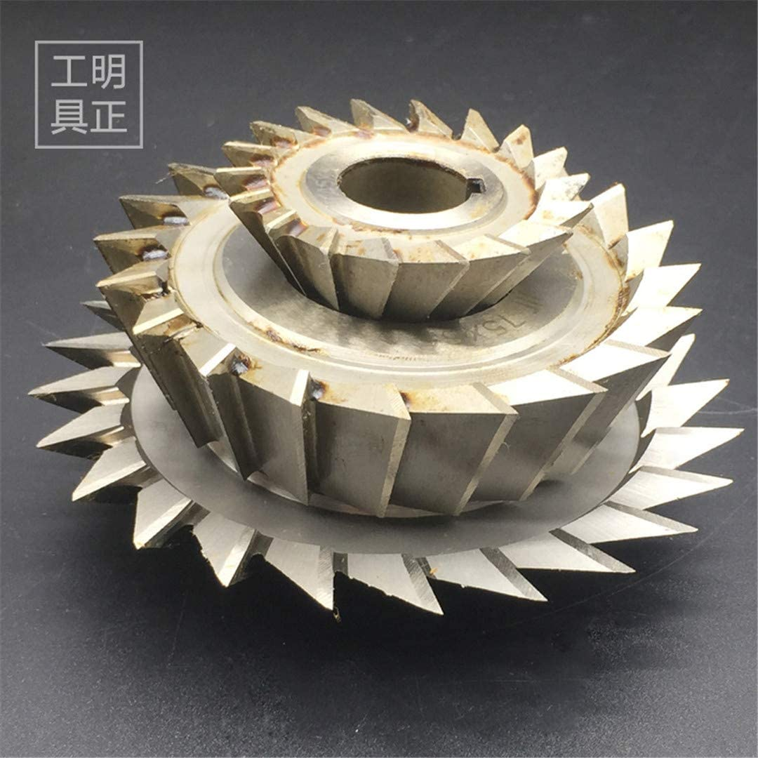 Single Angle Milling Cutter Gear Milling Cutter External Diameter 45 60 75 100 Angle 30 45 60 75 90 Angle Milling Cutter D75X60Degree D75x30degree