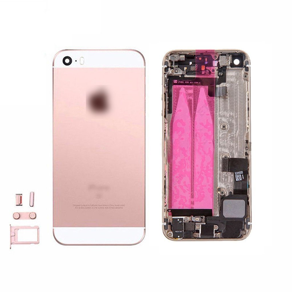 Amazon.com: for iPhone 5S Full Housing Assembly With Logo Rear ...