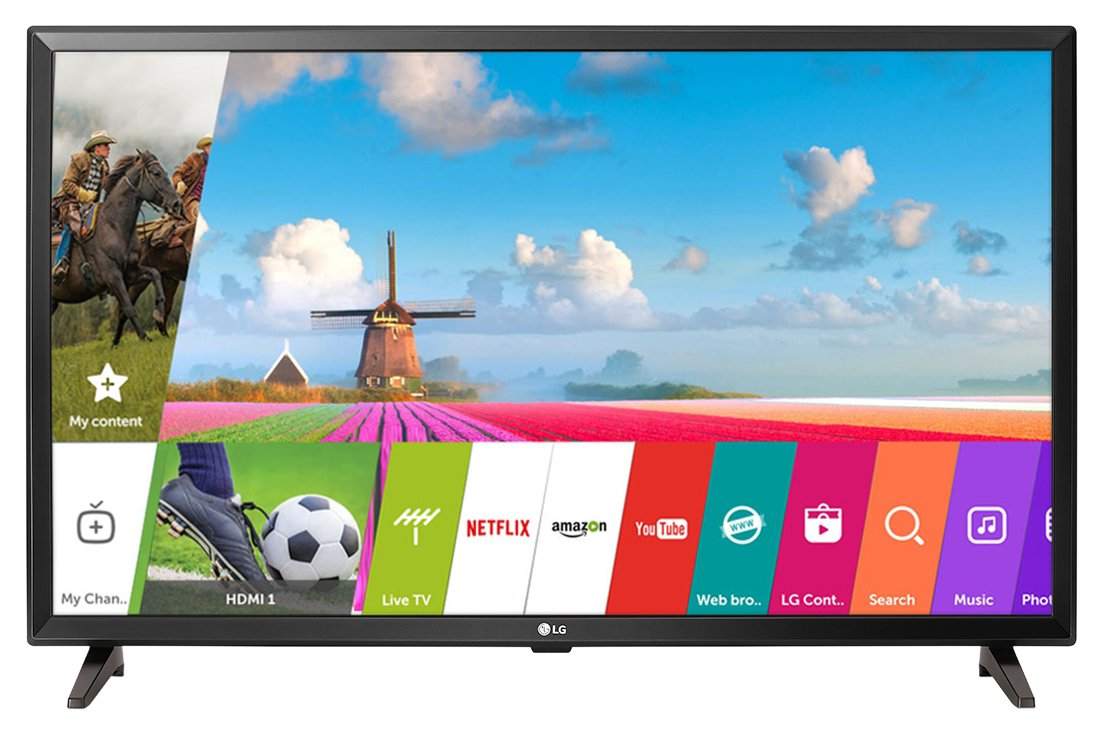 LG 32LJ618U 32 Inch HD Ready Smart LED TV Image
