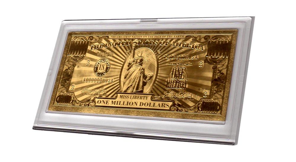 American Art Classics Gold Million Dollar Bill Commemorative by American Art Classics (Image #3)