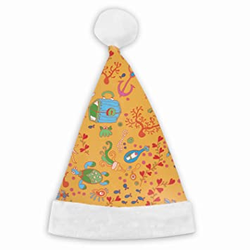 6aefbe1b800a9 1 Pack Doodle Kids Sea Santa Hat Adult Kid Size Winter Plush New Years Xmas