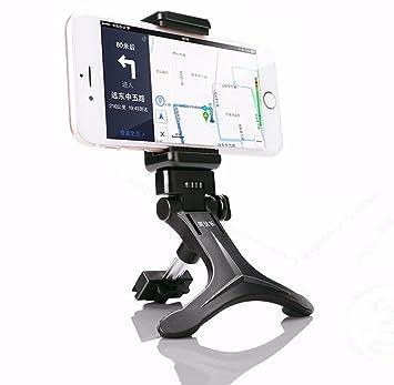 Tongshi Sostenedor del soporte de negro de aire del coche montaje de la salida de la horquilla para el móvil inteligente GPS del teléfono celular: ...