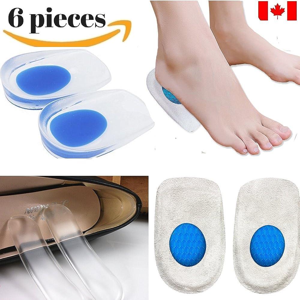 Dr. Go Heel Pads, Heel Cups, Heel Pain
