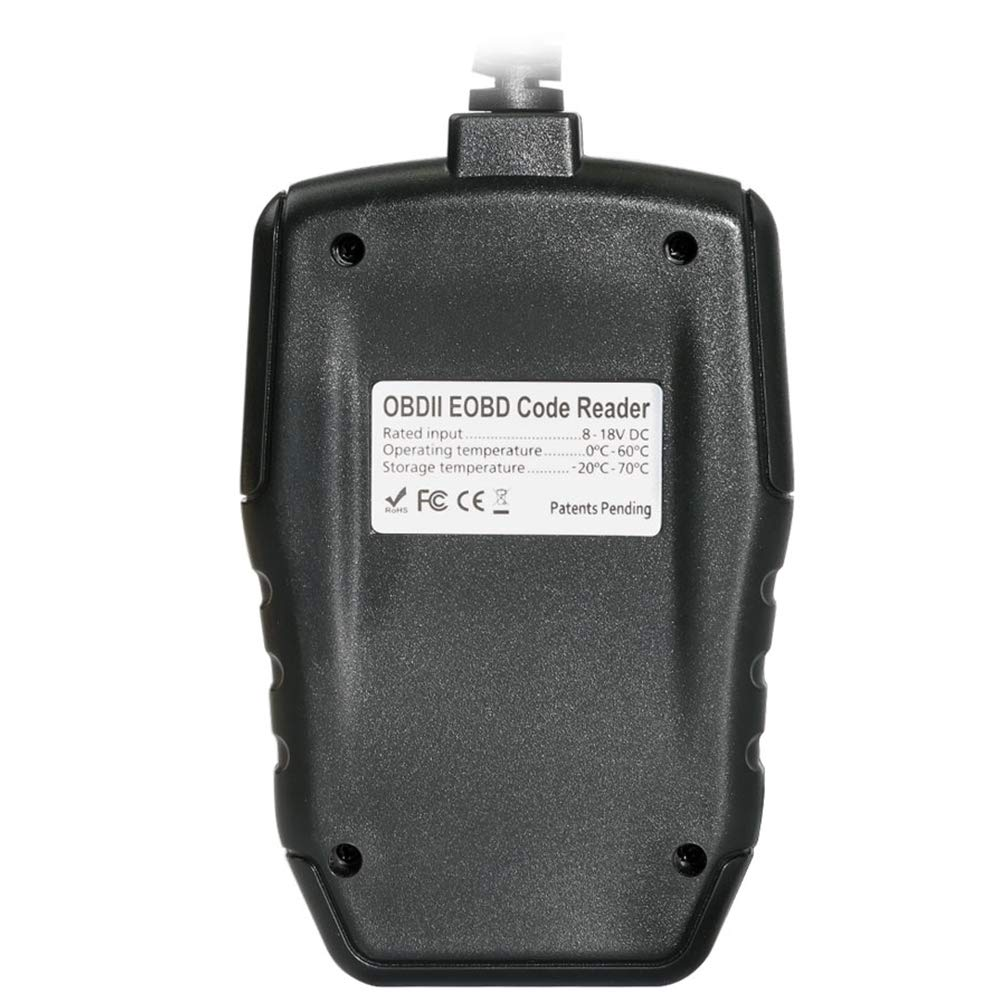Strumento diagnostico Can OBDII Lettore di Codici Motore XTUNER AM1011 OBD2 Plus Lettore di Codici per Auto OBDII//EOBD aggiornamento Online e multilingua