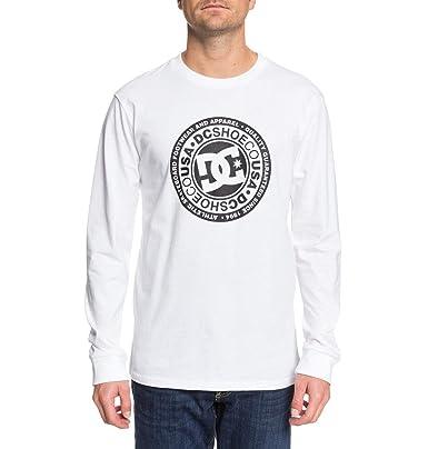 DC Shoes Tag Team LS-Camiseta de Manga Larga para Hombre