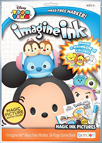 Bendon 41193 Imagine Magic Ink Play Pack Tsum