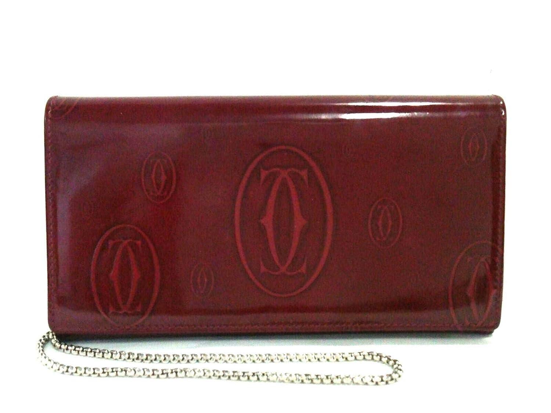 (カルティエ)Cartier 財布 ハッピーバースデー ボルドー 【中古】 B07QK8CYQJ