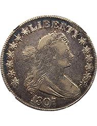 1807 P Bust Half Dollars Draped Bust Half Dollar VF25 NGC