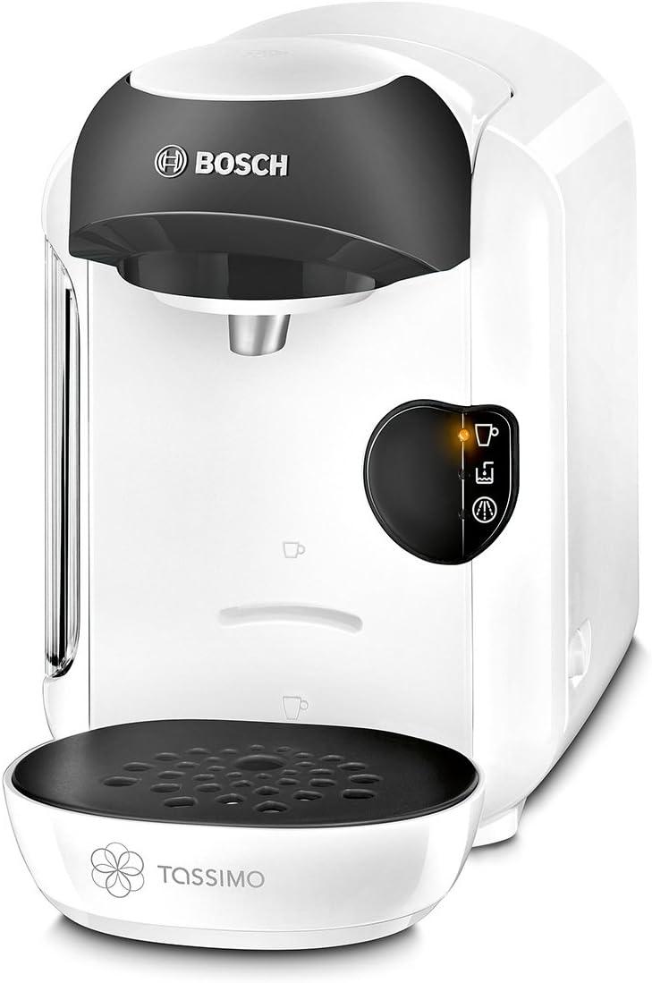 Bosch CAFETERA MULTIBEBIDA TAS1254 TASSIMO, 450 W, 0.7 litros, 1.5, Plástico, Blanco y negro: Amazon.es: Hogar