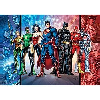 Amazon.com: MightyPrint DC Comics Justice League (Justice League ...
