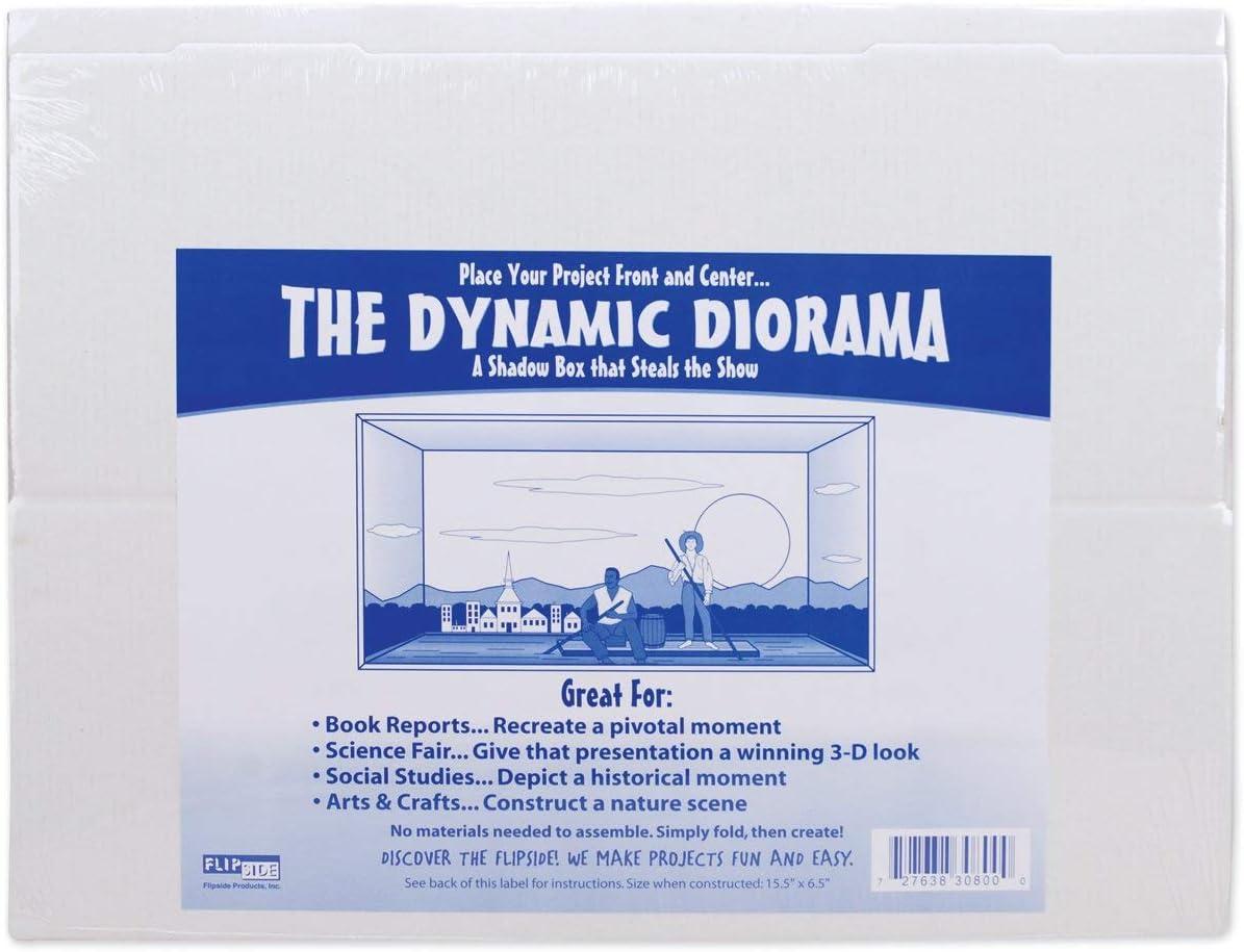 Amazon Com Flipside Cardboard Diorama 15 1 2x6 1 2