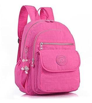 Mochilas de las mujeres para adolescentes mochila de nylon femenino Femenino mochila mochila escolar bolsa de Feminina 1: Amazon.es: Equipaje
