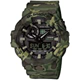 Casio Mens Quartz Watch, Analog-Digital Display and Resin Strap GA-700CM-3AER