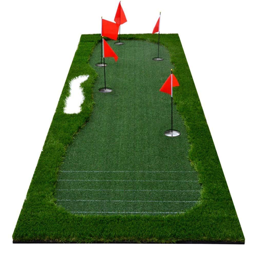 ゴルフパッティングマットグリーンマット携帯用練習用ブランケット厚く広いサーフェスライン補助用弾性EVAバッキング屋外/屋内オフィスホームスポーツゴルフトレーニング用具 (サイズ さいず : 3.5*1M(11.5*3.3ft)) 3.5*1M(11.5*3.3ft)  B07RP8WXKB